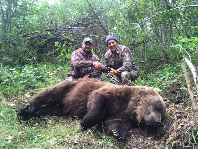 Hunting Bear in Alaska